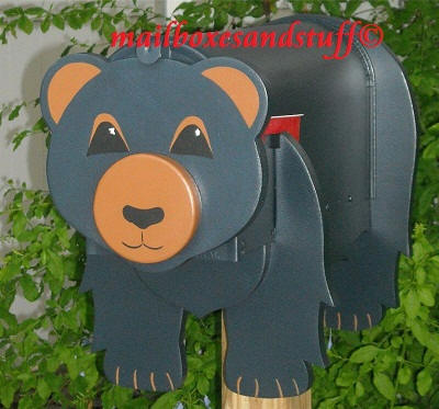 bear mailbox unique mailboxes shaped like bears