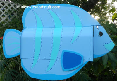 Tropical Fish Mailbox Sunfish design