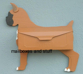Standard painting for Boxer Wall mount with cropped ear
