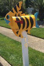 Tropical FIsh Mailbox