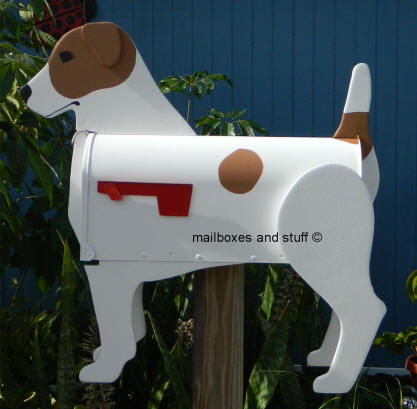Jack Russell Terrier Mailbox
