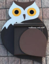 Owl Wall mount mailbox