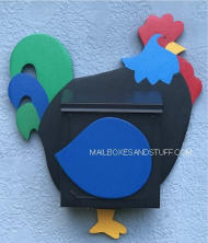 ROOSTER WALLMOUNT MAILBOX