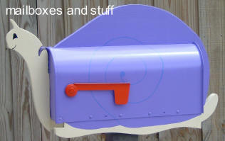 Purple Snail MAIL BOX