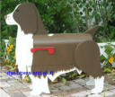 "Springer Spaniel Mailbox custom paiiinted like customers dog ""Bucket"""
