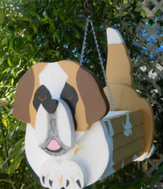 Saint Bernard Planter Box