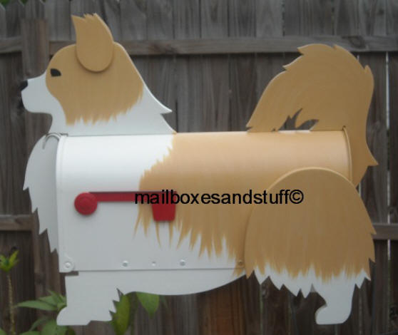 Long Coat Chihuahua mailbox