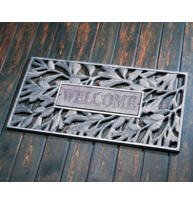 Welcome Pinecone Mat