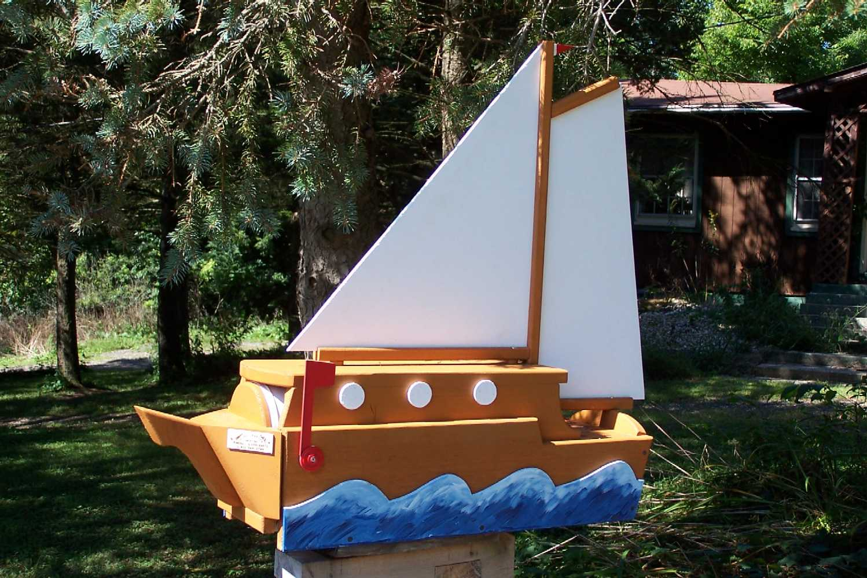 cool mailbox designs unique sail boat designs32 mailbox