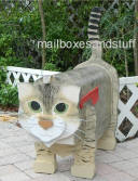 custom painted cat mailbox Augustas