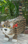 Bengal Cat Mailbox