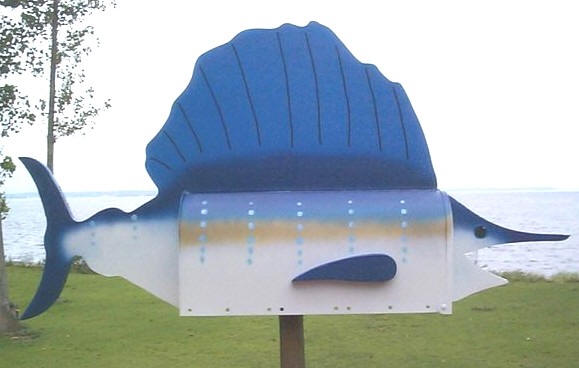 Sailfish Mailbox
