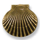 Brass Scallop door bell