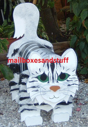 Maine Coon Cat mailbox