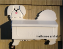 Maltese puppy cut wall mount