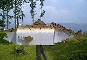 Speckled Trout Mailbox
